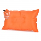 AOTU AT6222 Outdoor Camping Travelling Auto Air Inflatable Cushion Pillow - Orange