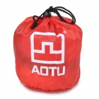 Aotu AT6222 para Camping Viajar Auto Aire Inflable Almohada Cojín - Red