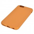 "Holes Pattern Protective TPU Back Case for IPHONE 6 4.7"" - Brown"