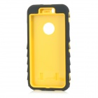 3-in-1 Detachable Protective ABS + Silicone Back Case Cover for IPHONE 6 - Black + Yellow