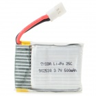 Wltoys V931-015 Universal Replacement 3.7V 500mAh Li-polymer Battery for R/C Toy - Silver