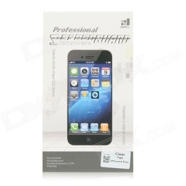 Protective PET Clear Screen Guard Protector for IPHONE 6 PLUS - Transparent
