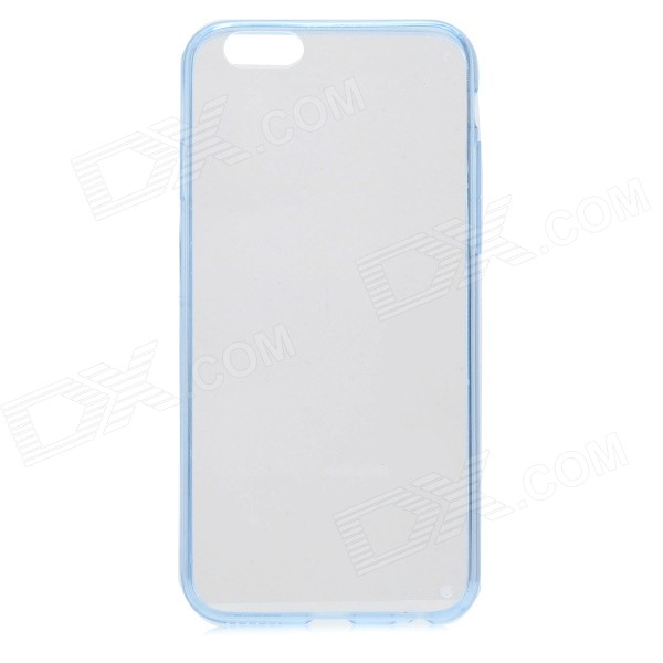 Protective Anti-Shock Ultra-Slim Acrylic Back Case for IPHONE 6 4.7 - Blue + Transparent