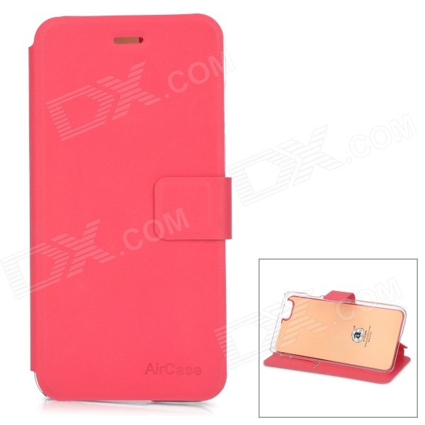 Protective PU + TPU Flip-Open Case w/ Stand / Card Slot for IPHONE 6 4.7