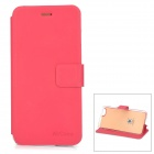 "Protective PU + TPU Flip-Open Case w / Stand / Card Slot für iPhone 6 4.7 ""- Deep Pink"