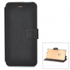 "Protective PU + TPU Flip-Open Case w/ Stand / Card Slot for IPHONE 6 4.7"" - Black"