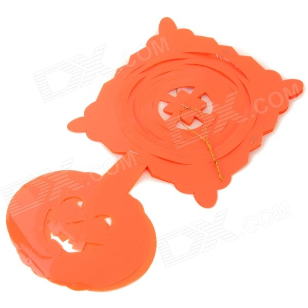 Halloween / Dancing Party Plastic Decorative Flower - Orange