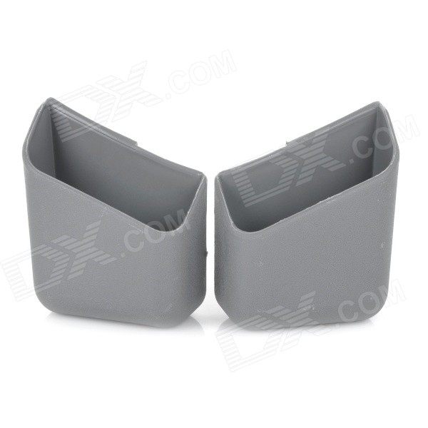 Multifunctional Car Storage Box Container - Grey