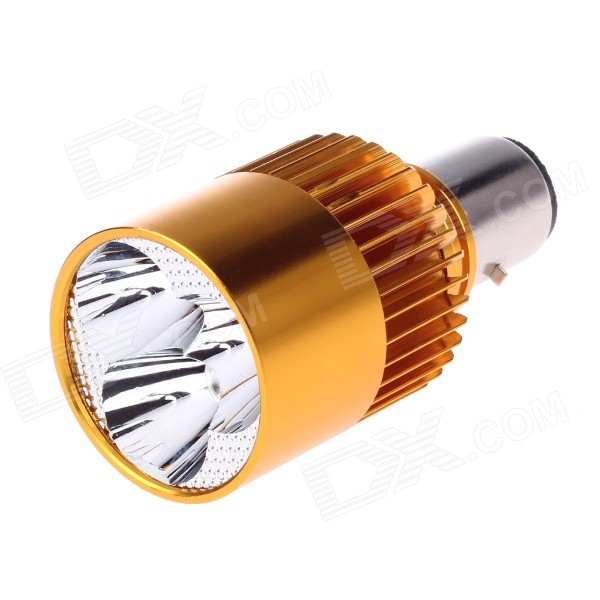 12W 150LM 3200K Warm White LED Built-in Spotlight for Motorcycle / Electromobile Headlamp (12~80V)