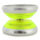 LAPHO cool en alliage d'aluminium + plastique YO-YO Toy - Green Fluorescent