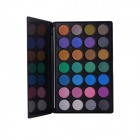 Professional Cosmetic Makeup 28-Color Eye Shadow Palette - Black