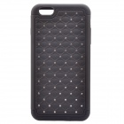 "NEJE FS0002-6 Bling Rhinestone Inlaid PC + Silicone Back Case for IPHONE 6 PLUS 5.5"" - Black"