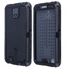 Redpepper Aluminum Alloy + Silicone Waterproof Shockproof Case for Samsung Note 3 - Black