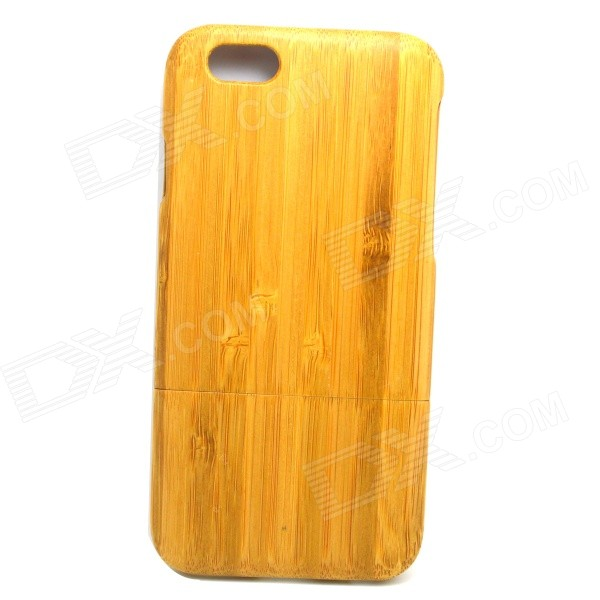 LS-I6 Retro Style Detachable Protective Bamboo Back Case for IPHONE 6 4.7