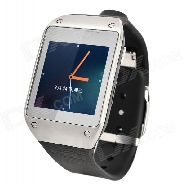 JNF JNF-W-1 Android 4.2.2 Dual-core Watch Phone w/ 1.6 Screen, Wi-Fi, GPS, 4GB ROM - Grayish White original jnf electromagnetism valve jnf f 01 jhf vista leopard myjet rtz flora yongli xuli uv inkjet printer and flat printing