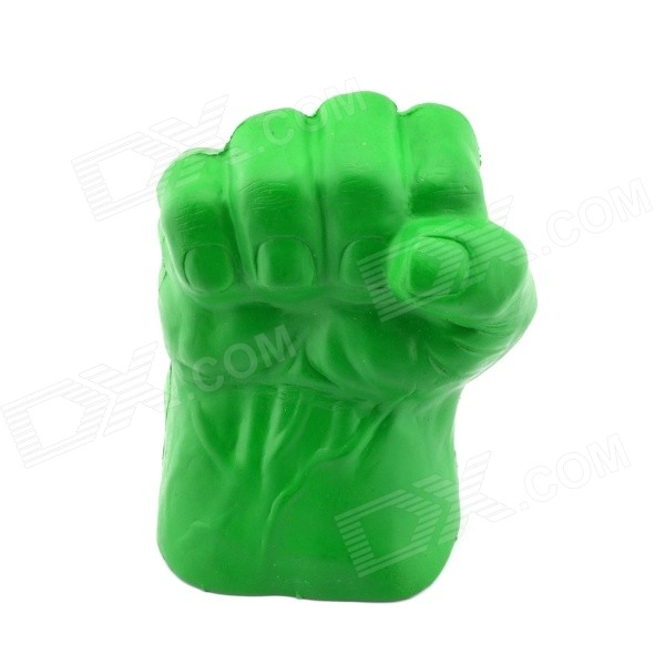 Halloween Party Costume Props Foam Right Hand Fist Glove - Green