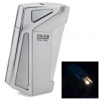 sysh0040 Creative Inflatable Butane Zinc Alloy Lighter - Silver