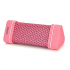 Earson ER151 Outdoor Sports Wireless Bluetooth V2.0 + EDR Speaker w/ Micro USB / 3.5mm - Pink