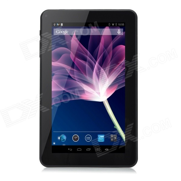 Q93pro 9 ATM7029 Quad-Core Android 4.4 Tablet PC w/ 512MB RAM, 8GB ROM, Bluetooth, Wi-Fi - Black morris j doctor who touched by an angel