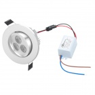3W 240-Lumen 6300-7000K White LED Spot Light Module (AC 110~220V)