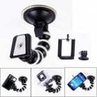 JUSTONE J107 Car Suction Cup Mount + Adapter + Phone Holder Set for SJ4000 / SJ5000 / GoPro Hero 4
