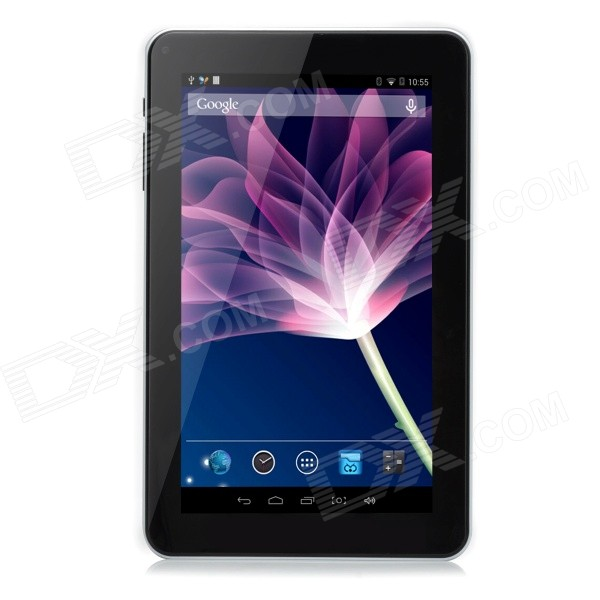 "PC Tablet Quad-Core ATM7029 de 9"" com 512 MB de RAM, 8 GB ROM - Branco"