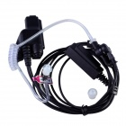 Baiston HW01 Walkie Talkie Anti-Radiation Acoustic Tube PU Earphone for Motorola HT1000 + More
