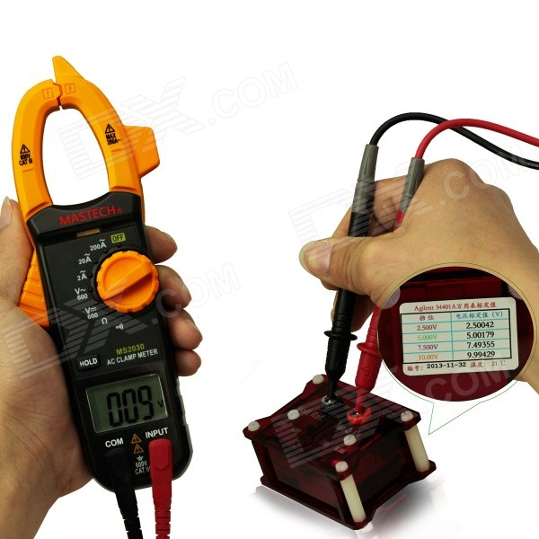 Clamp Style Multimeter : Mastech ms quot screen auto range clamp style
