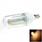 HONSCO E12 5W 400lm 84-SMD 2835 LED 3000K Warm White Light Corn Bulb (AC 85-265V)