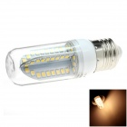HONSCO E27 5W 400lm 84-SMD 2835 LED 3000K Warm White Light Corn Bulb (AC 85~265V)