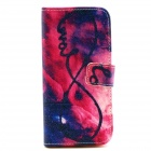 """LOVE Pattern Flip-open PU Leather Case with Stand and Card Slot for IPHONE 6 4.7"""""""