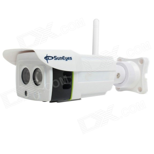 Camera SunEyes SP-P1801SW Wireless Outdoor 1080p HD IP completa w / Micro SD Slot / P2P / Áudio Bidirecional