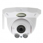 SunEyes SP-P702W Wireless Dome IP Camera w/ Audio / TF Slot / ONVIF / Motion / IR - White