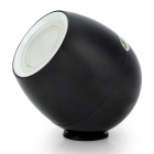 Mini Smart 256 Living Colors 3W 150lm 660nm 3-COB LED USB Mood Light Lamp - Black (1.5~3.7V)