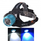 SingFire SF-645L Zooming White + Blue 3-Mode 250lm Headlamp w/ 2 x CREE XPE R2 - Blue (2 x 18650)