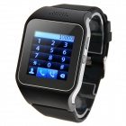 "CL-W215 1.46"" IPS Single-Core GSM Smart Watch Phone w/ GPS / 128MB RAM / 64MB ROM - Black"