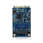 MPCE2U-R01 MINI PCI-E для USB 3.0 / MPCIE для передней стороны 20/19-контактный адаптер карты расширения - синий