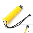 Portable Handheld Monopod Camera Mount Pole for Gopro Hero 4/ 2 / Hero 3 / SJ4000 - Yellow