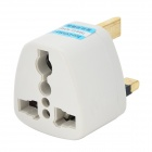 Universal UK Travel AC Power Adapter Plug - White
