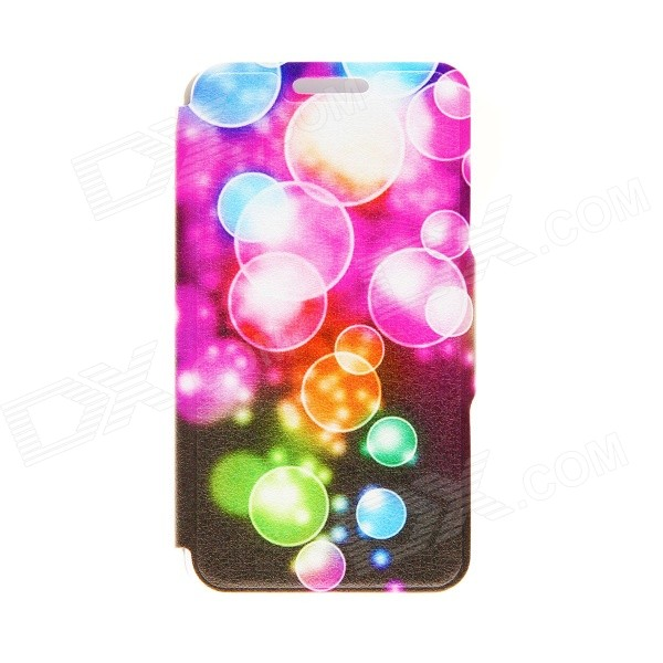 Kinston Color Bubble Pattern PU Leather Full Body Case with Stand for Google LG Nexus 4 E960 kinston love for you pattern pu leather full body case w stand for google lg nexus 4 e960 white