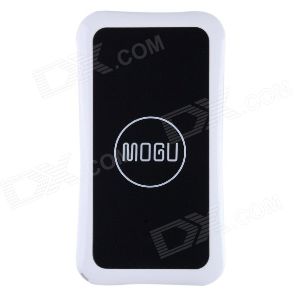 Mogu Universal QI Standard Wireless Charger + Receiver Case for IPHONE 5 / 5S - Black qi 4 mini qi standard wireless charger emitter wireless charging receiver set for samsung s4 i9500