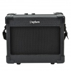 Daphon GA-1 5W DC 9V Guitar Amplifier w/ Volume, Tone, H.Phone Functions and Belt Clip