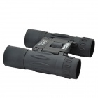 JinjuLi 10X25 FMC Green Film + Blue Film Waterproof Binoculars Telescope - Black