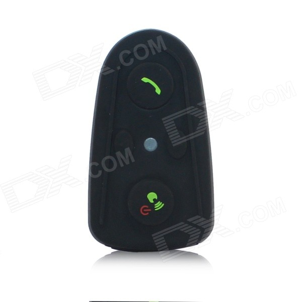 V0 impermeable manos libres Bluetooth Interphone para motocicleta / esquí casco - negro