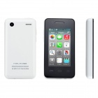 "Mini Android 4.2 Dual Core GSM Quad-Band-Handy w / 2,4 ""kapazitiven Touchscreen, Wifi - Weiß"