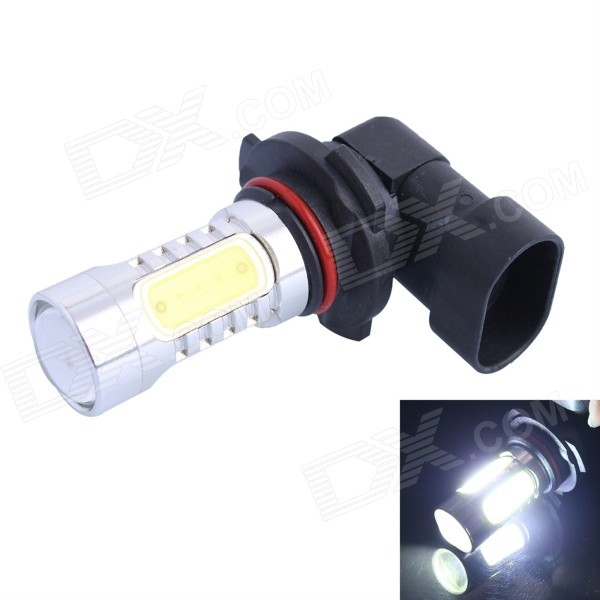 9006 11W 600lm White LED Car Foglight / Headlamp w/ 1-CREE XP-E + 4-COB (DC 12~24V)