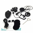 COM Handsfree Bluetooth Interphone for Motorcycle and Skiing Helmet - Black