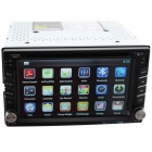 "Universal 6.2"" Screen 2 Din Android 4.2 OS Car DVD Player w/ GPS, OBD II, DVR, 3G, WiFi - Black"
