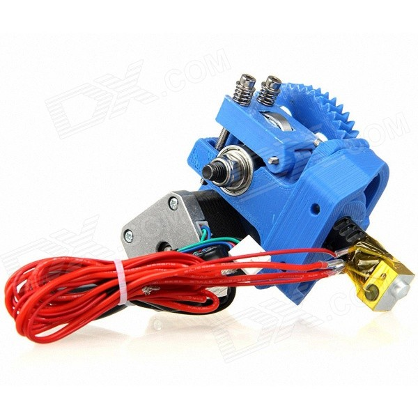 Geeetech GT3 3D Printer Extruder w/ J-Head Nozzle - Blue hot sale wanhao d4s 3d printer dual extruder with multicolor material in high precision with lcd and free filaments sd card