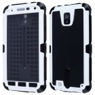 Redpepper Case Aluminum Alloy + Silicone Shockproof Case for Samsung Note 3 N9000 - White